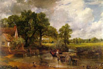 Haywain  by John Constable East Bergholt Suffolk